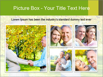 Happy senior couple PowerPoint Template - Slide 19
