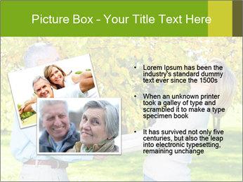 Happy senior couple PowerPoint Template - Slide 20