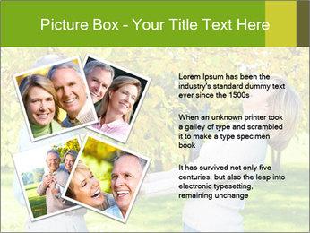 Happy senior couple PowerPoint Template - Slide 23