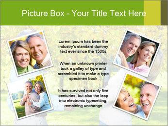 Happy senior couple PowerPoint Template - Slide 24