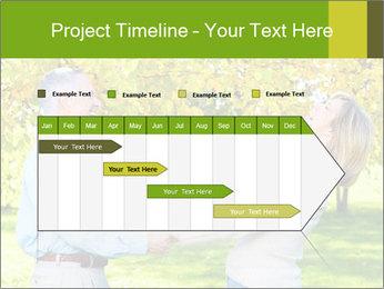 Happy senior couple PowerPoint Template - Slide 25