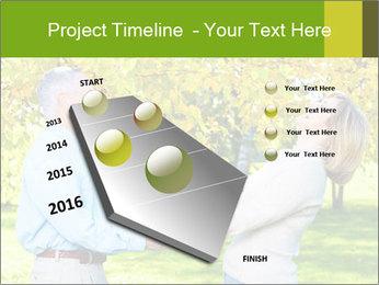 Happy senior couple PowerPoint Template - Slide 26
