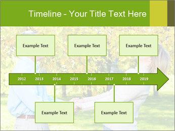 Happy senior couple PowerPoint Template - Slide 28