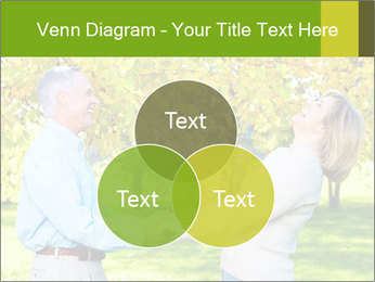 Happy senior couple PowerPoint Template - Slide 33