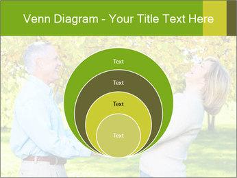 Happy senior couple PowerPoint Template - Slide 34