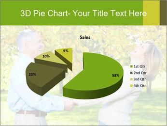 Happy senior couple PowerPoint Template - Slide 35