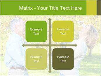 Happy senior couple PowerPoint Template - Slide 37