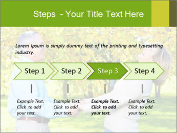 Happy senior couple PowerPoint Templates - Slide 4