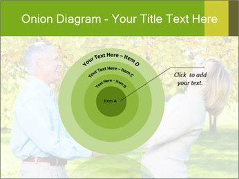 Happy senior couple PowerPoint Template - Slide 61