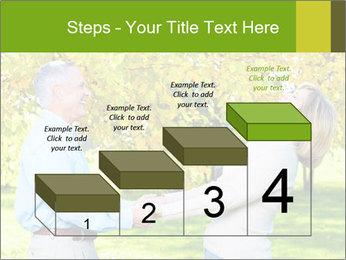 Happy senior couple PowerPoint Template - Slide 64