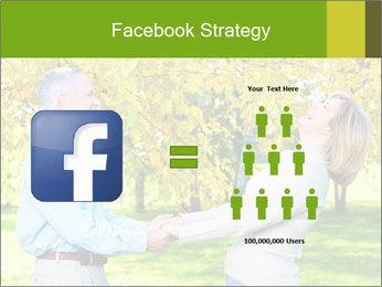 Happy senior couple PowerPoint Template - Slide 7
