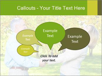 Happy senior couple PowerPoint Template - Slide 73