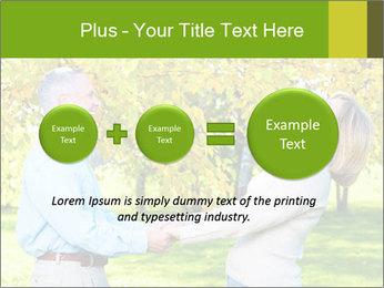 Happy senior couple PowerPoint Template - Slide 75