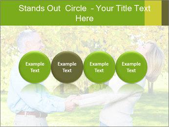 Happy senior couple PowerPoint Template - Slide 76