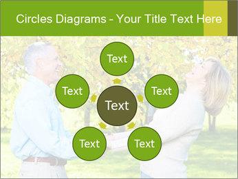 Happy senior couple PowerPoint Template - Slide 78