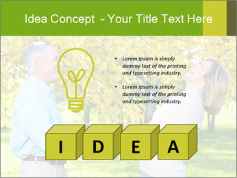 Happy senior couple PowerPoint Templates - Slide 80