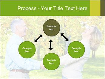 Happy senior couple PowerPoint Templates - Slide 91