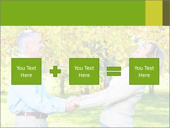 Happy senior couple PowerPoint Template - Slide 95