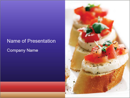 Fresh and tasty PowerPoint Template