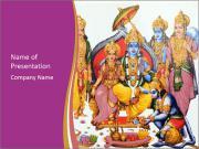 Hindu deity PowerPoint Templates