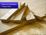 Parquet boards PowerPoint Template