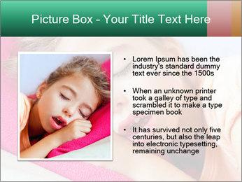 Deep sleeping children PowerPoint Template - Slide 13