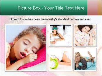 Deep sleeping children PowerPoint Template - Slide 19