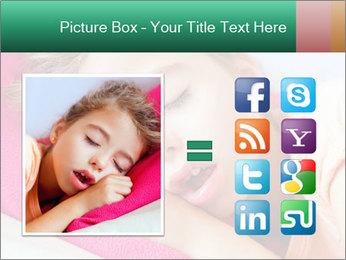 Deep sleeping children PowerPoint Template - Slide 21