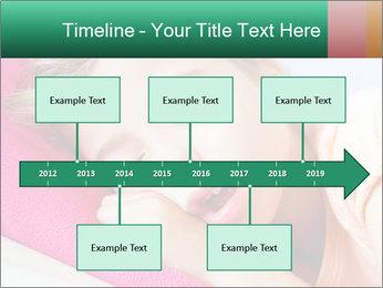 Deep sleeping children PowerPoint Template - Slide 28