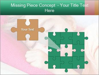 Deep sleeping children PowerPoint Template - Slide 45