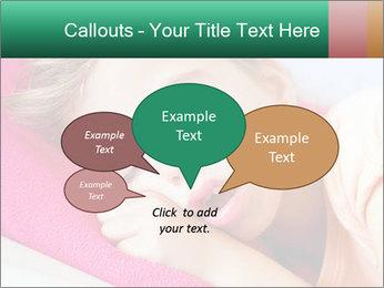 Deep sleeping children PowerPoint Template - Slide 73