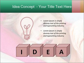 Deep sleeping children PowerPoint Template - Slide 80
