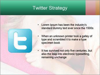 Deep sleeping children PowerPoint Template - Slide 9