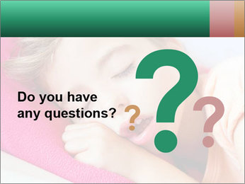 Deep sleeping children PowerPoint Template - Slide 96