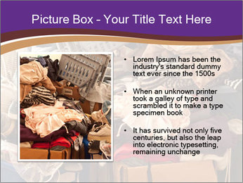 Pile of misc items PowerPoint Template - Slide 13