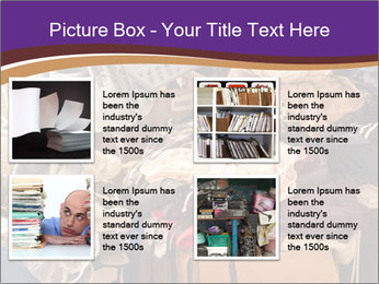 Pile of misc items PowerPoint Template - Slide 14