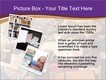 Pile of misc items PowerPoint Template - Slide 17
