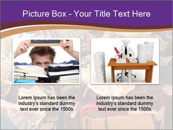 Pile of misc items PowerPoint Template - Slide 18