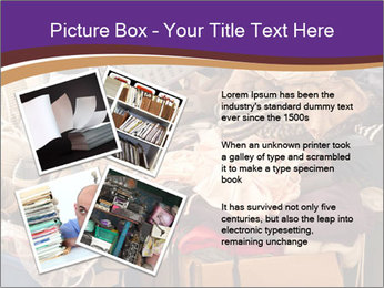 Pile of misc items PowerPoint Template - Slide 23