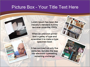 Pile of misc items PowerPoint Template - Slide 24
