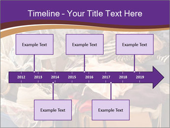 Pile of misc items PowerPoint Template - Slide 28
