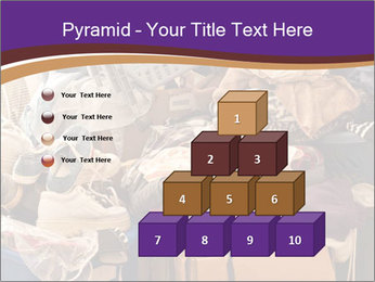 Pile of misc items PowerPoint Template - Slide 31