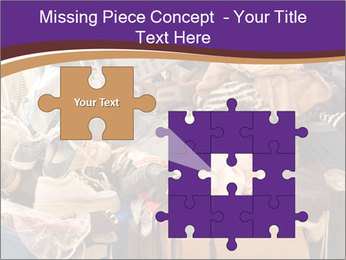 Pile of misc items PowerPoint Template - Slide 45