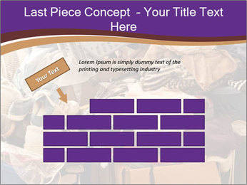 Pile of misc items PowerPoint Template - Slide 46
