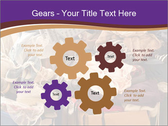 Pile of misc items PowerPoint Template - Slide 47