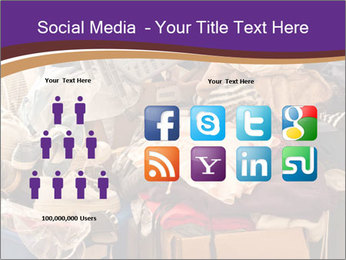 Pile of misc items PowerPoint Template - Slide 5