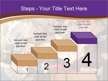 Pile of misc items PowerPoint Template - Slide 64