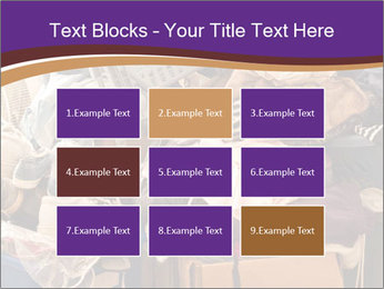 Pile of misc items PowerPoint Template - Slide 68