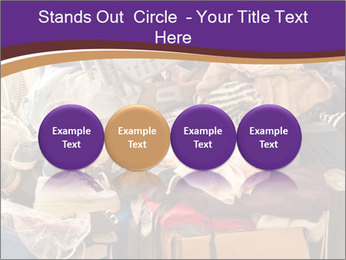Pile of misc items PowerPoint Template - Slide 76