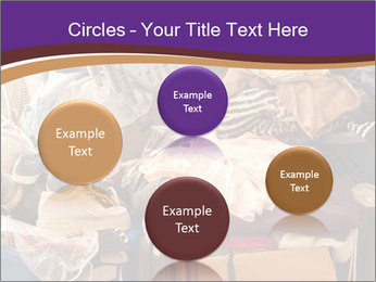 Pile of misc items PowerPoint Template - Slide 77